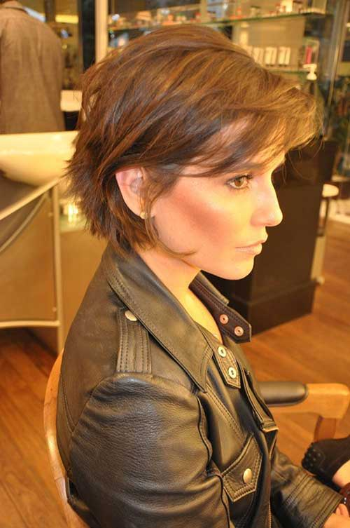 Best Short Haircuts with Bangs 2014
