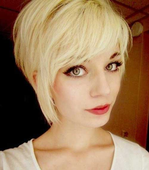 Best Short Haircuts with Long Bangs
