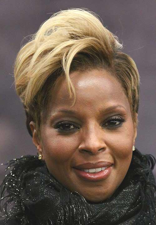 Pleasing 15 Short Blonde Hairstyles For Black Women Short Hairstyles Hairstyles For Women Draintrainus