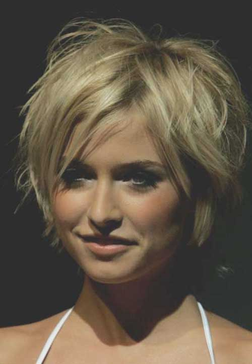 Short Layered Blonde Haircuts