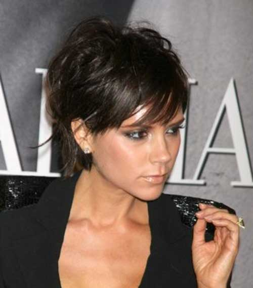 10 Short Haircuts with Long Bangs