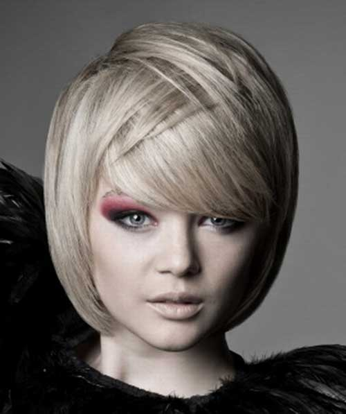 Best Short Layered Haircuts For Chubby Round Faces