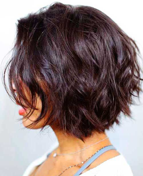 Pictures Of Medium Hairstyles For 2017 : Best short layered hairstyles