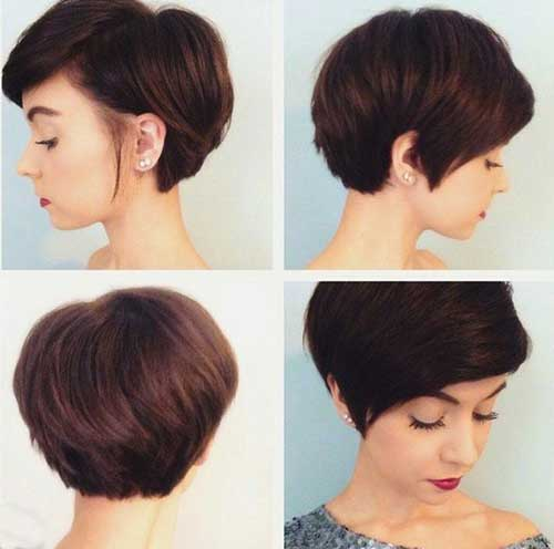 Short Longer Pixie Cropped Hair Ideas