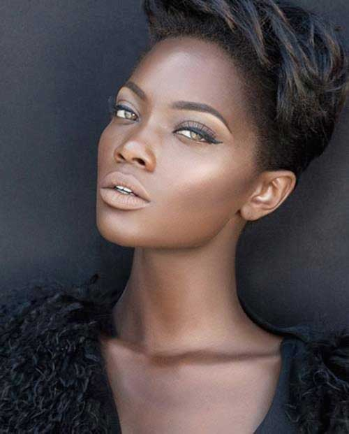 Cool 10 Short Mohawk Hairstyles For Black Women Short Hairstyles Hairstyles For Women Draintrainus