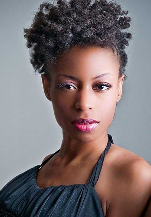Best Short Natural Hairstyles for Black Women with Round Faces