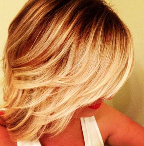 Best Short Ombre Hair Style
