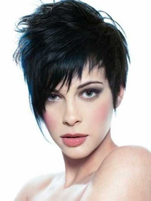 Layered Short Pixie Cuts for Thick Hair