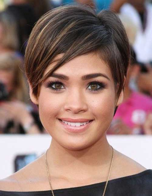 Short Razor Casual Pixie Haircuts