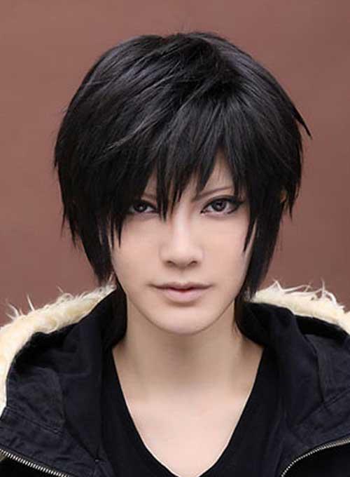 Short-Razor-Dark-Hair