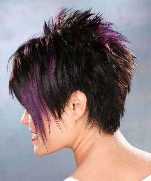 Short Razor Spiky Pixie Haircuts