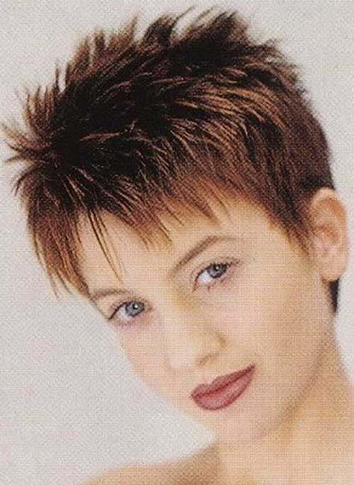 Short Spiky Fine Haircuts for Women