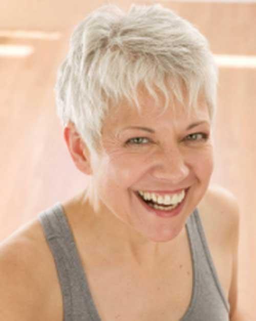Best Short Spiky Hair for Older Women