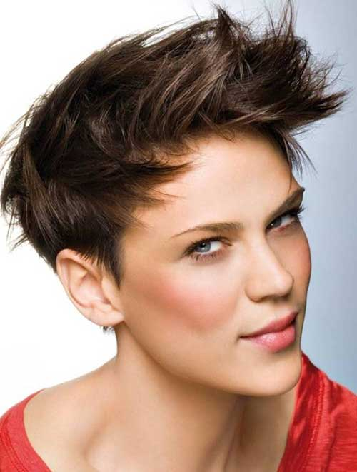 Awesome 15 Short Spiky Haircuts For Women Short Hairstyles Amp Haircuts 2015 Short Hairstyles Gunalazisus
