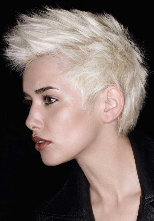 Marvelous 15 Short Spiky Haircuts For Women Short Hairstyles Amp Haircuts 2015 Hairstyles For Men Maxibearus
