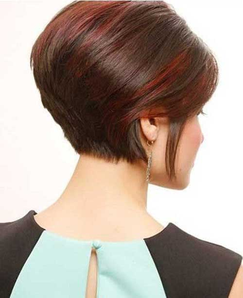 Short Stacked Bob Hair Trend