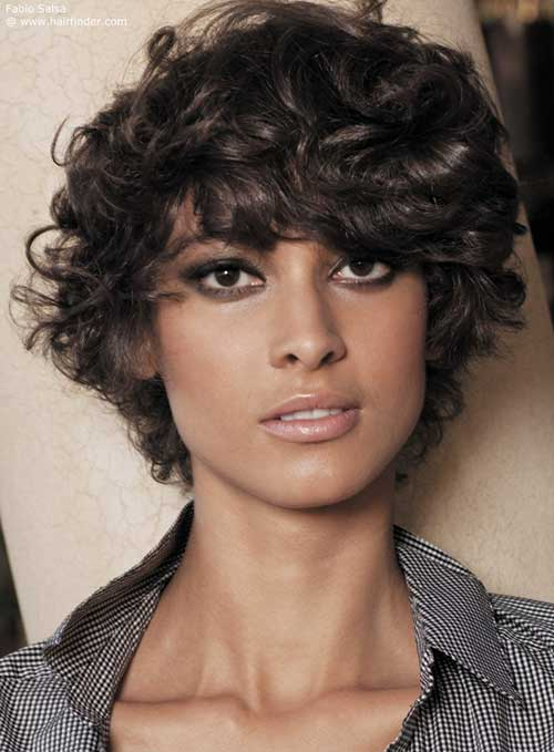 Short Thick Frizzy Curly Haircuts