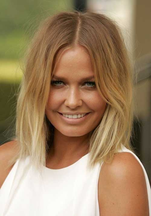 Soft Blonde Ombre Short Hair Styles
