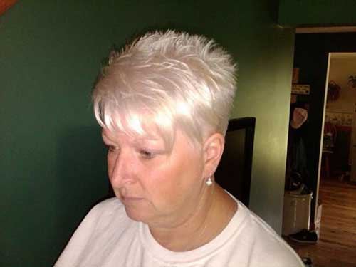 Best Spiky Pixie Haircuts Older Women