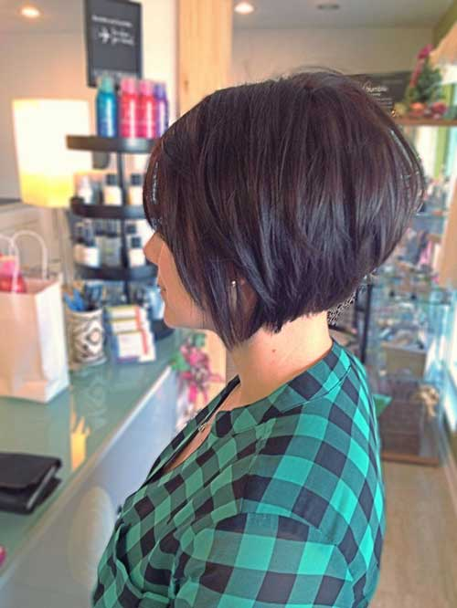 Stacked Hairstyles for Short Hair Idea