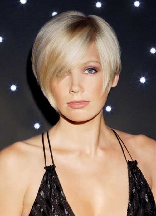 Straight Blonde Bob Haircuts