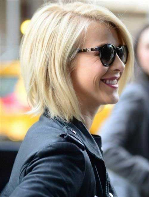 Short Straight Bob Hair