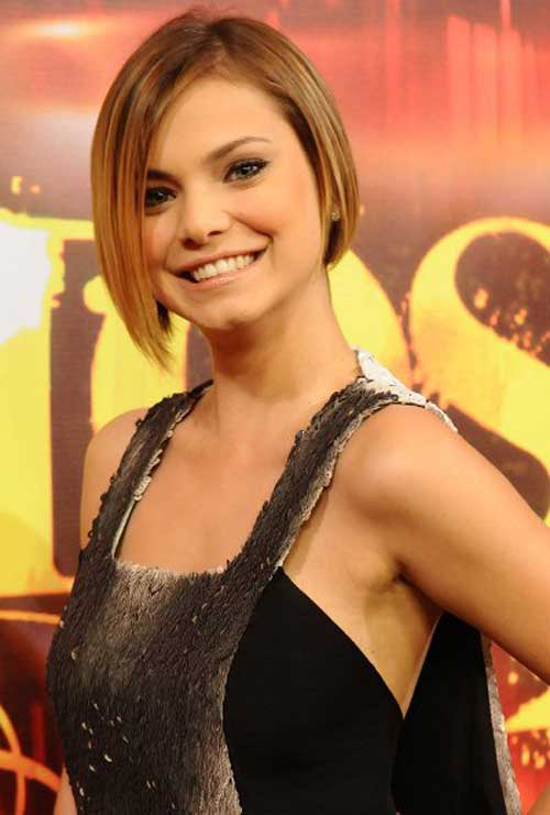 Straight Fine Bob Hair Ideas