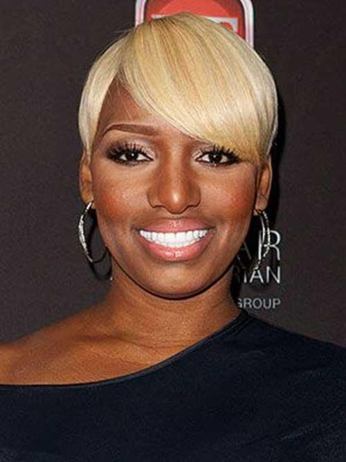 Straight Blonde Pixie Hair for Black Women