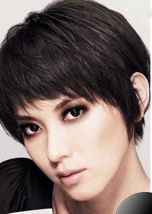 Straight Pixie Cuts for Thick Hair