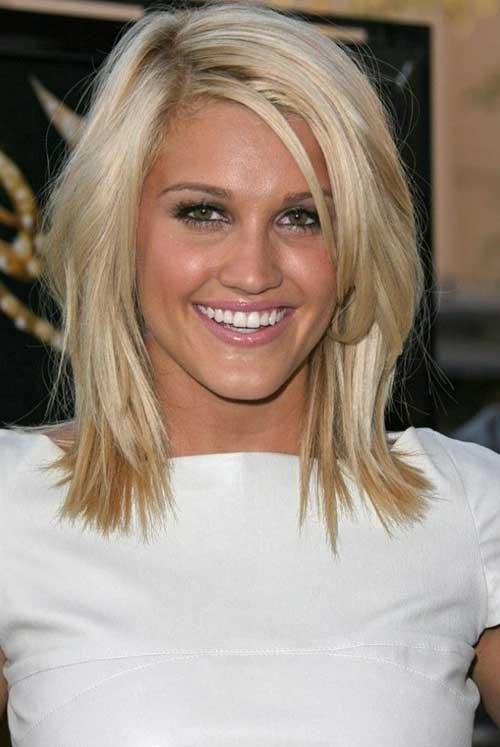 Straight Short Medium Haircuts