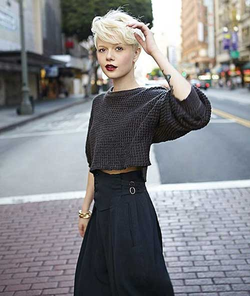 Street Style Short Cropped Hairstyles