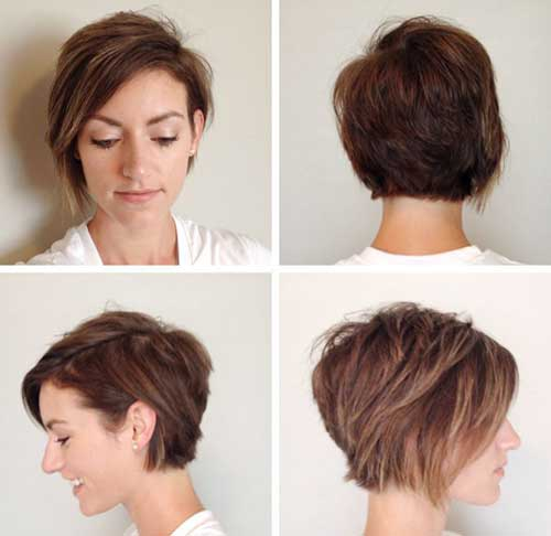 Stylish Long Pixie Hairstyles