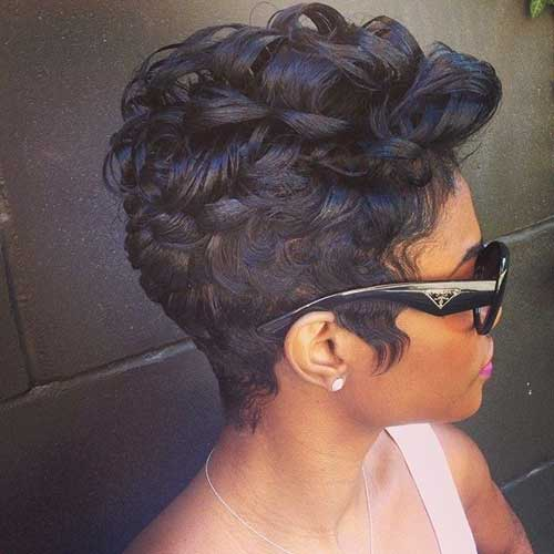Stylish Pixie Cut Curly Hairstyles
