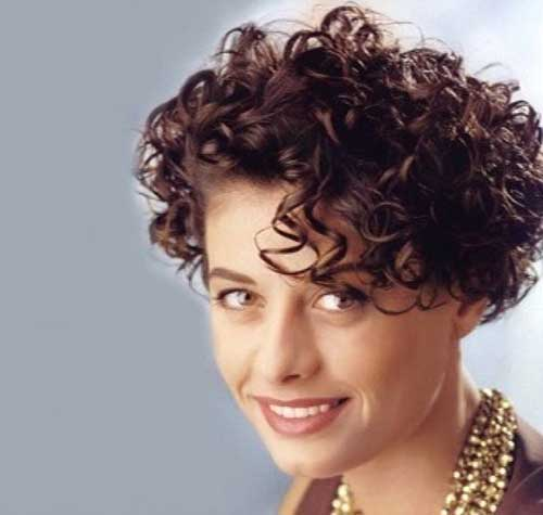 Stylish Very Short Curly Haircuts