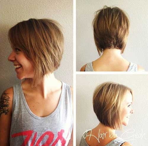 Best Thick Bob Cut with Bangs