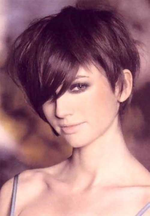 Thick Long Pixie Hairstyles
