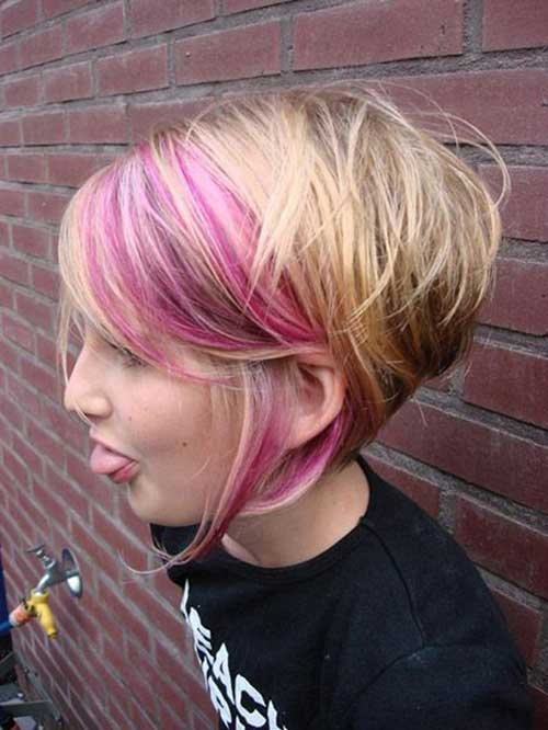 Trendy Graduated Short Blonde Hairstyles 2015