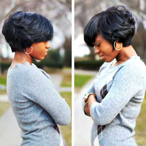 Trendy Layered Bob Hairstyles for Black Women