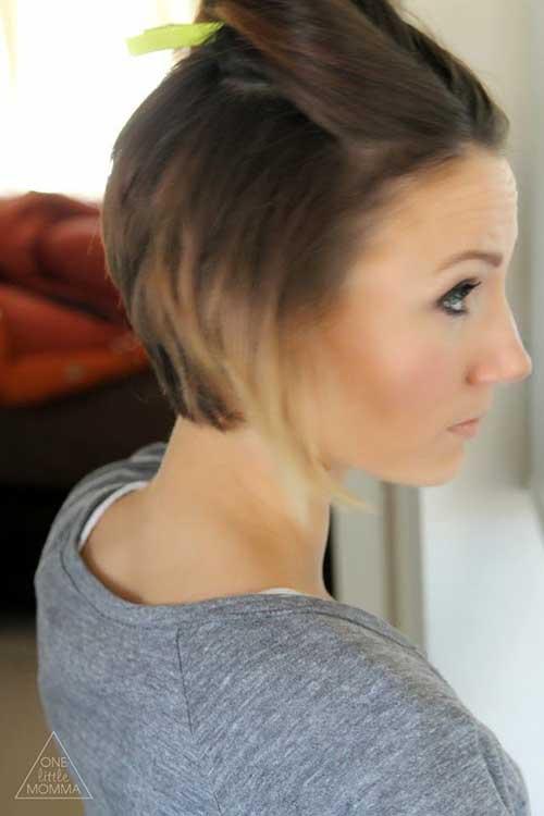 Trendy Short Angled Bob Haircuts