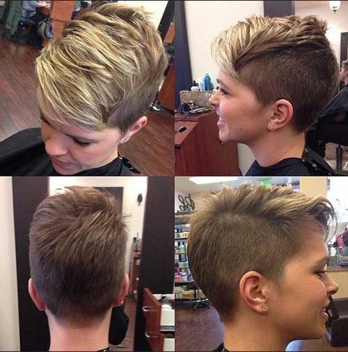 Trendy Short Side Pixie Haircuts