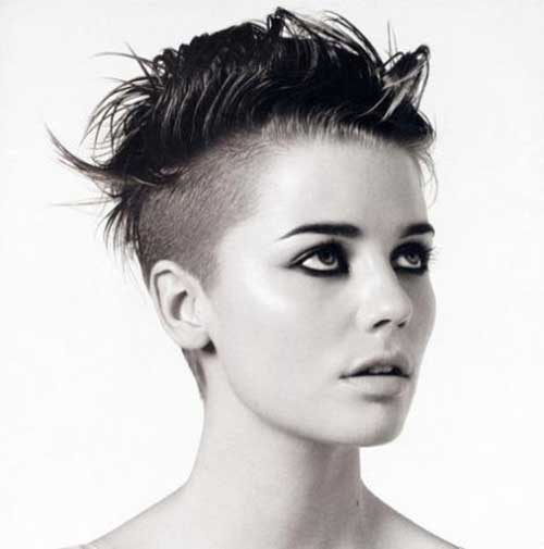Undercut Punky Short Haircuts