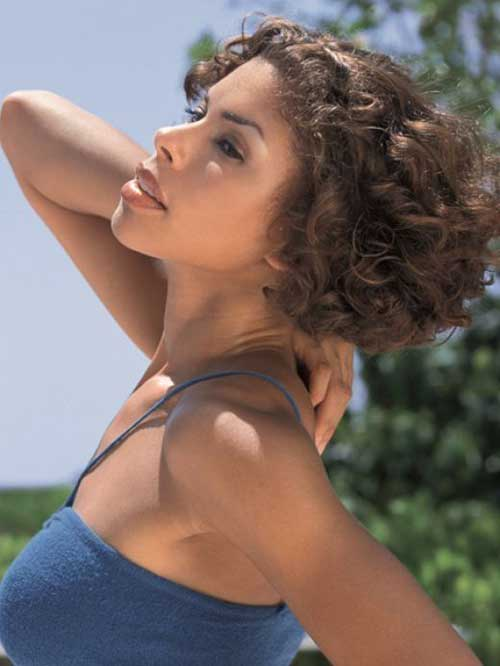 Very Short Natural Curly Haircuts