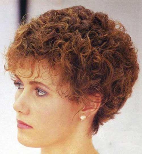 Phenomenal Very Short Hair Perm Styles Short Hair Fashions Hairstyles For Men Maxibearus