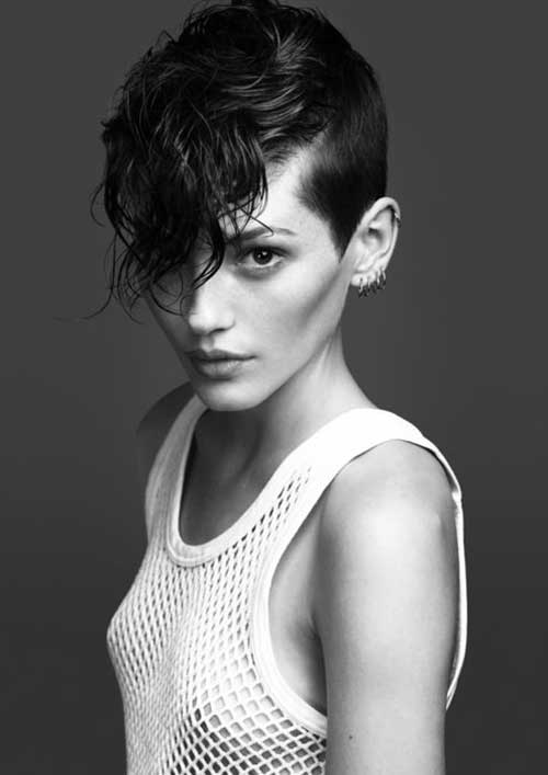 Very Short Pixie Cropped Curly Haircuts