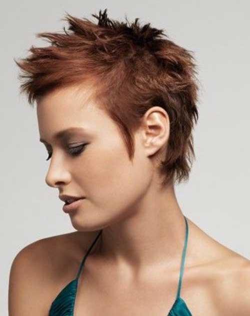 Very Short Spiky Hair Ideas