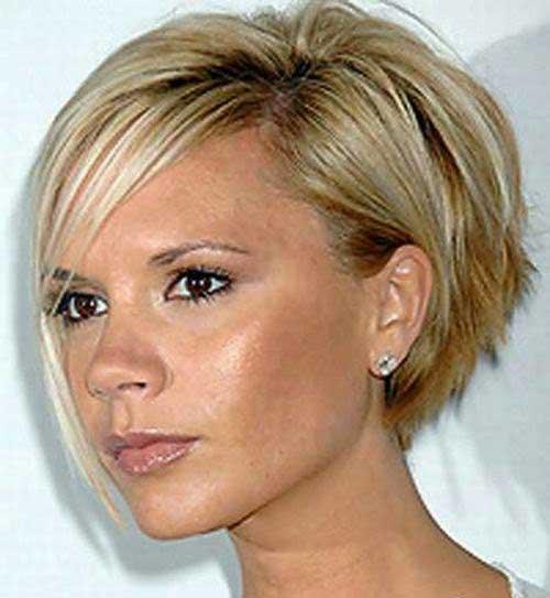 Victoria Beckham's Concave Blonde Bob
