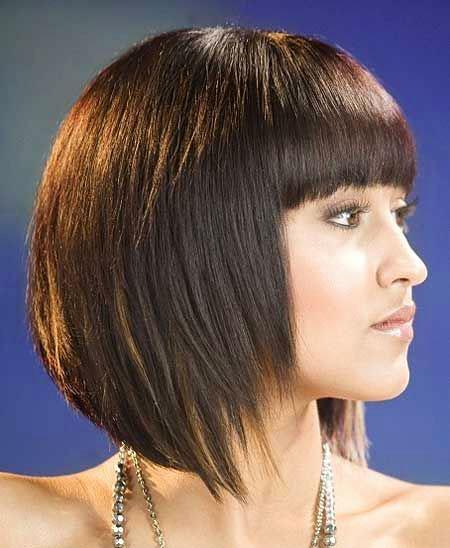 Best 2016 Short Hair with Bangs - 11