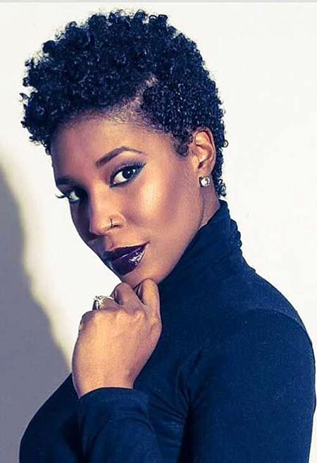 Short Curly Hairstyles Black Women - 11-
