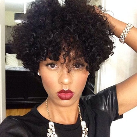 40 short curly hairstyles for black women short