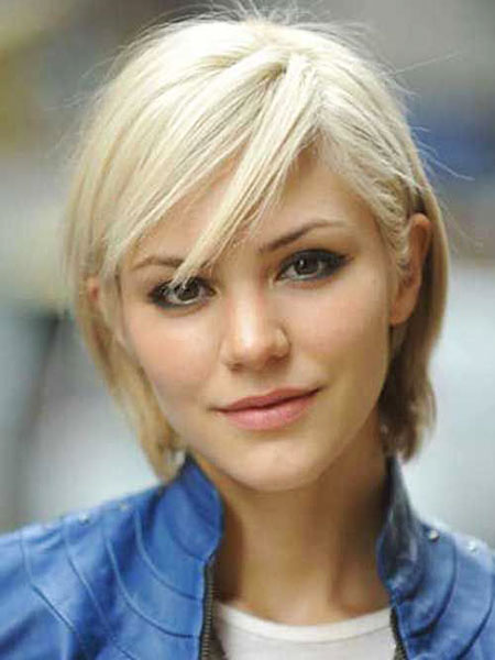 2016 Short Hair with Bangs - 12-